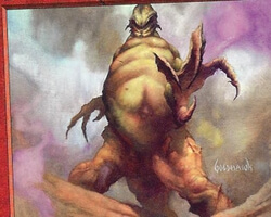 Magic the Gathering Nemesis Card: Flowstone Overseer