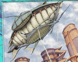 Magic the Gathering Nemesis Card: Stronghold Zeppelin