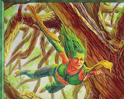Magic the Gathering Nemesis Card: Treetop Bracers