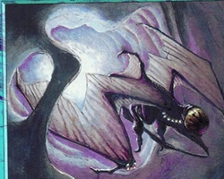Magic the Gathering Nemesis Card: Wandering Eye