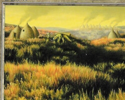 Magic the Gathering Onslaught Card: Plains (a)