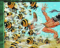 Magic the Gathering Portal Card: Bee Sting