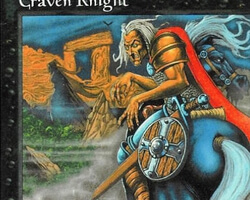 Magic the Gathering Portal Card: Craven Knight