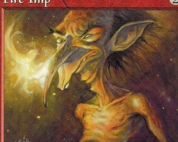 Magic the Gathering Portal Card: Fire Imp