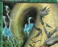 Magic the Gathering Portal Card: Needle Storm