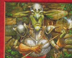 Magic the Gathering Portal Second Age Card: Goblin Piker