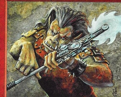 Magic the Gathering Portal Second Age Card: Ogre Berserker