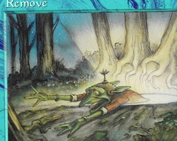 Magic the Gathering Portal Second Age Card: Remove