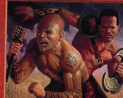 Magic the Gathering Prophecy Card: Branded Brawlers