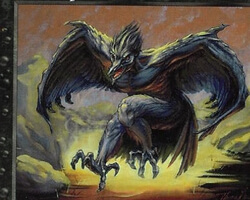 Magic the Gathering Prophecy Card: Pit Raptor