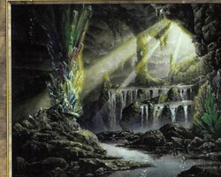 Magic the Gathering Prophecy Card: Rhystic Cave