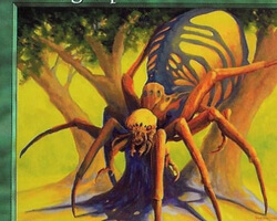 Magic the Gathering Prophecy Card: Rib Cage Spider
