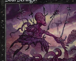 Magic the Gathering Prophecy Card: Soul Strings