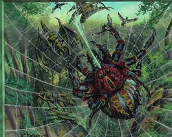 Magic the Gathering Prophecy Card: Spitting Spider