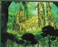 Magic the Gathering Ravnica: City of Guilds Card: Forest (d)