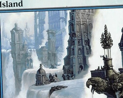 Magic the Gathering Ravnica: City of Guilds Card: Island (a)