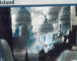 Magic the Gathering Ravnica: City of Guilds Card: Island (c)