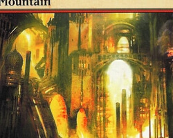 Magic the Gathering Ravnica: City of Guilds Card: Mountain (b)