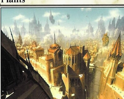 Magic the Gathering Ravnica: City of Guilds Card: Plains (a)