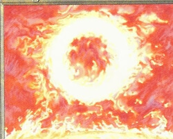 Magic the Gathering Revised Card: Sol Ring (Worn)