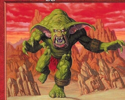 Magic the Gathering Starter 1999 Card: Trained Orgg