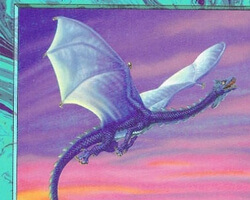 Magic the Gathering Starter 1999 Card: Wind Drake