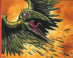 Magic the Gathering Stronghold Card: Shard Phoenix