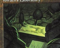 Magic the Gathering Stronghold Card: Volrath's Laboratory