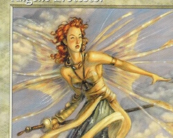 Magic the Gathering Tempest Card: Angelic Protector