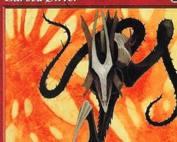 Magic the Gathering Tempest Card: Barbed Sliver