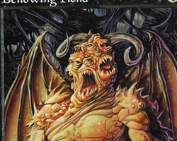 Magic the Gathering Tempest Card: Bellowing Fiend