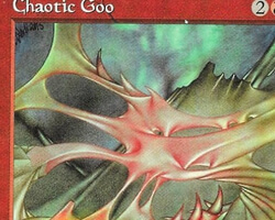 Magic the Gathering Tempest Card: Chaotic Goo