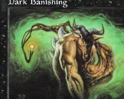Magic the Gathering Tempest Card: Dark Banishing