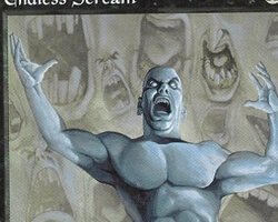 Magic the Gathering Tempest Card: Endless Scream