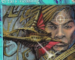 Magic the Gathering Tempest Card: Ertai's Meddling