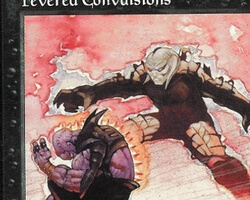 Magic the Gathering Tempest Card: Fevered Convulsions