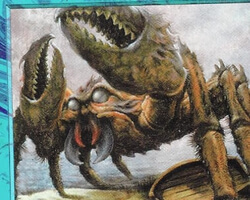 Magic the Gathering Tempest Card: Giant Crab