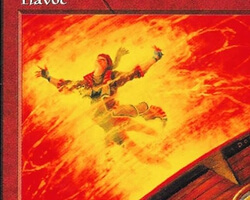 Magic the Gathering Tempest Card: Havoc