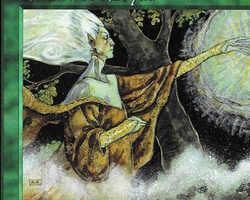 Magic the Gathering Tempest Card: Heartwood Dryad