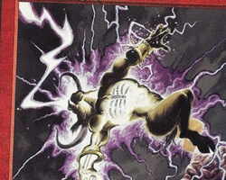 Magic the Gathering Tempest Card: Lightning Blast