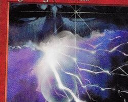 Magic the Gathering Tempest Card: Lightning Elemental
