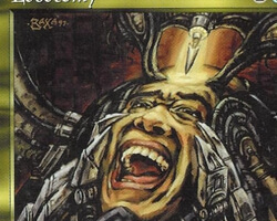 Magic the Gathering Tempest Card: Lobotomy