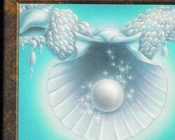 Magic the Gathering Tempest Card: Pearl Medallion