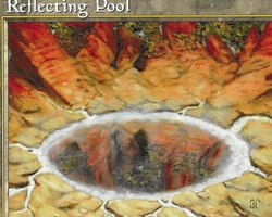 Magic the Gathering Tempest Card: Reflecting Pool