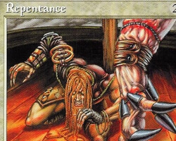 Magic the Gathering Tempest Card: Repentance