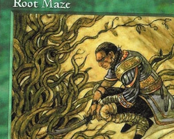 Magic the Gathering Tempest Card: Root Maze