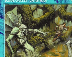 Magic the Gathering Tempest Card: Rootwater Shaman