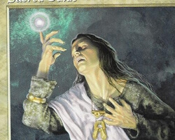 Magic the Gathering Tempest Card: Sacred Guide