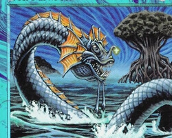 Magic the Gathering Tempest Card: Sea Monster
