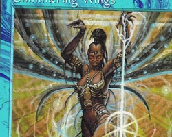 Magic the Gathering Tempest Card: Shimmering Wings